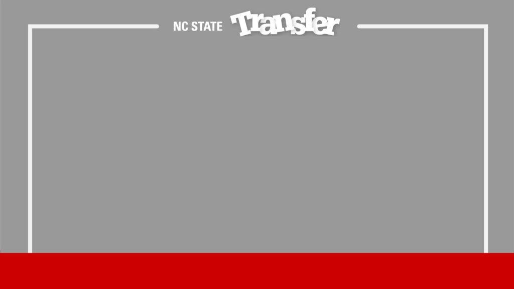 Zoom Background Transfer Student Grey