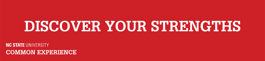 Discover your Strengths Banner
